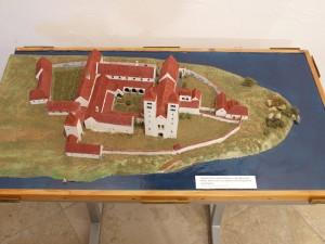 expozice-ostrovsky klaster-model