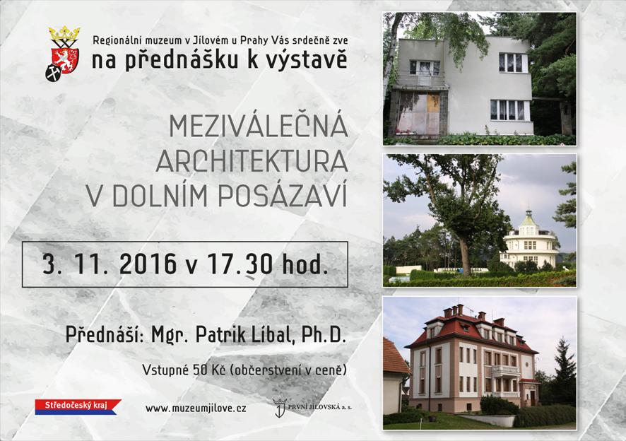PřednáškakvýstavěMeziválečnáarchitekturavDolnímPosázaví