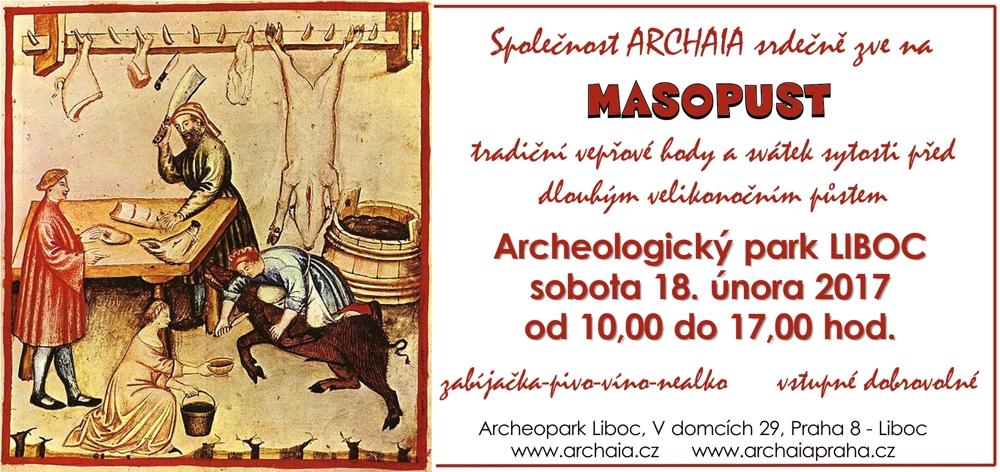 MasopustvarcheologickémparkuLiboc