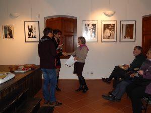 Předávání diplomů absolventům 1. ročníku muzejní akademie
