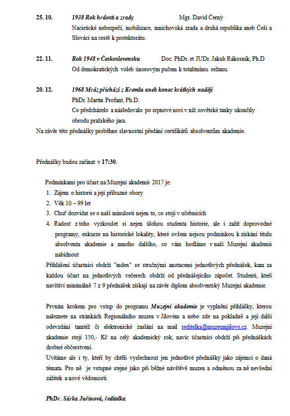 Akademie III_ProgramII