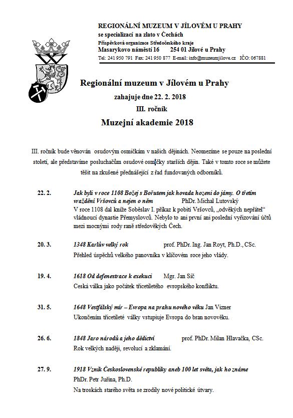 Akademie III_program